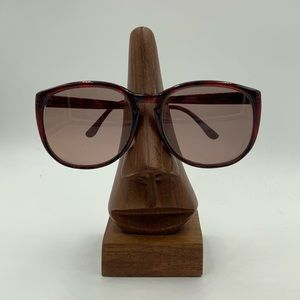 Vintage Classic Burgundy Oval Sunglasses Frames